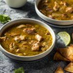 Homemade Colorado Pork Green Chili Soup